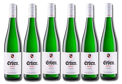 LANGGUTH ERBEN Auslese Edelsüß – Weißwein aus Deutschland – Prädikatswein, 6 x 0,75 L