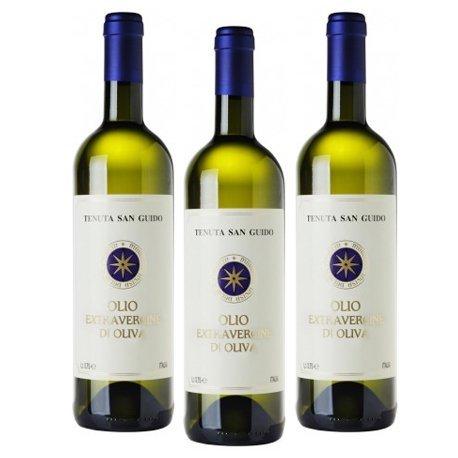 Tenuta San Guido (Sassicaia) - Natives Olivenöl Extra Sassicaia - Packung mit 3 Flaschen 75 cl. -...