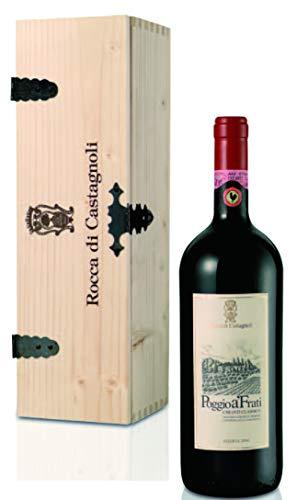 Rocca di Castagnoli Chianti Classico Riserva Poggio A'Frati Magnum in Holzkiste 2004 trocken (1 x...