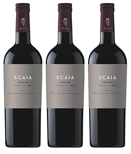 Scaia Rosso - Tenuta Sant Antonio - rot - trocken - 13 %vol. - 3er Paket