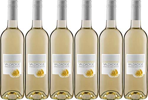 6x Chardonnay 2019 - Cantina Valdadige Veronese, Trentino-Alto Adige - Weißwein