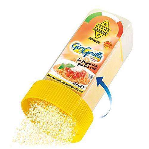 Agriform Giro & Gratta Grana Padano D.O.P. 16 Monate gereift, inkl. Käsereibe 250 g