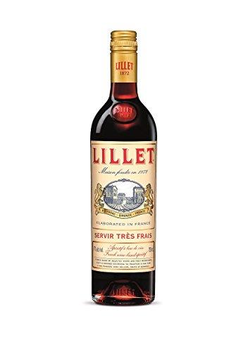 Lillet Rouge französischer Aperitif – Weinaperitif mit frischer Orange, Waldfrüchten und Vanille...