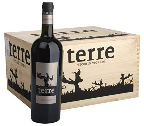 2018 Terre Vecchio Vigneto Rosso Puglia IGT in original Holzkiste (6x0,75l)