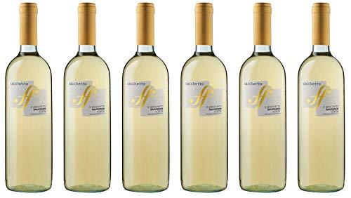 6x Sacchetto Bianchetto Sauvignon 2019 - Weingut Sacchetto, Veneto - Weißwein