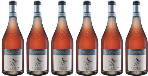 Bardolino Chiaretto - Le Morette - rosé - trocken - 12%vol. - 6er-Pack