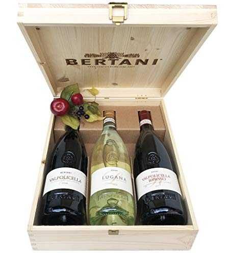 Bertani Weine Valpolicella Lugana und Valpolicella Ripasso Für Kenner des guten Weins - Kabeljau....