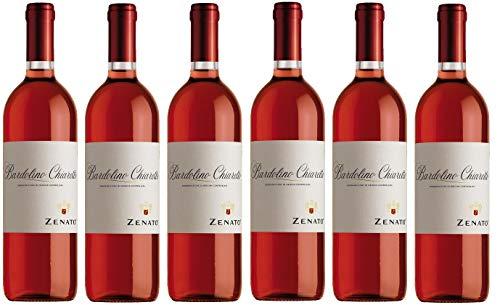 6x 0,75l - 2019er - Zenato - Bardolino Chiaretto D.O.C. - Veneto - Italien - Rosé-Wein trocken
