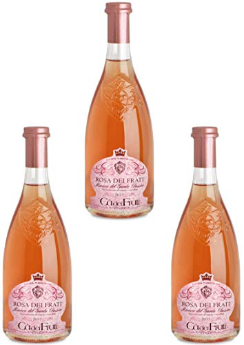 Rosenwein Rosa dei Frati Riviera del Garda Classico Doc - Weingut Cà dei Frati 3 Flaschen