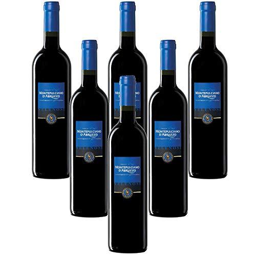 VELENOSI-Weine - Ascoli Pieno (AP) Italien Montepulciano D'Abruzzo DOC Italienischer Rotwein (6...
