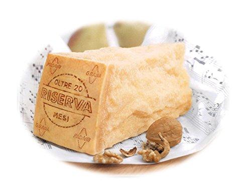 Boni Grana Padano DOP riserva mindestens 20 Monate gereift ca. 1,1kg am Stück