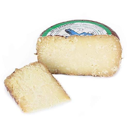 Ganzer Käselaib 1,5 kg - PECORINO TOSCANO DOP aus CASENTINO - 4 MONATE gereift - Käse aus...