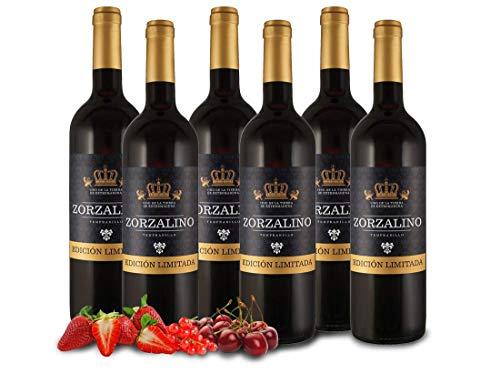 Zorzalino Tinto - Viñaoliva - Tempranillo - Extremadura - Spanien - Vorteilspaket 6 Fl. - Rotwein