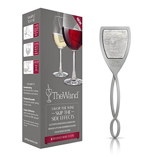Der Zauberstab | Der einzige Weinfilter, der Histamine und Sulfitkonservierungsmittel entfernt...