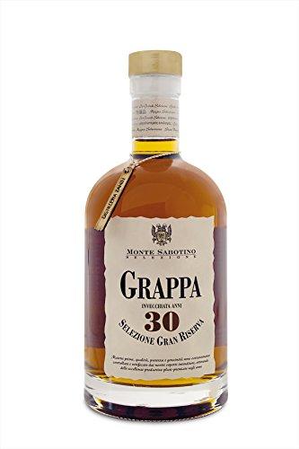 Grappa Grappa Gran Riserva 30 Jahre Holzfaßgelagert Monte Sabotino Italien 40% Vol 700 ml