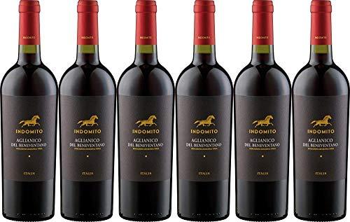 6x Aglianico del Beneventano 'Indomito' 2018 - Weingut Indomito, Campania - Rotwein