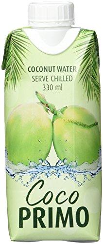 COCO PRIMO Kokosnusswasser, pur, erfrischendes Sportgetränk, exotischer Genuss, wohltuender...