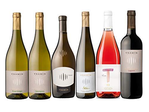 6 er Probierpaket Weine der Kellerei Tramin | Südtirol | trocken | 6 x 0,75 L.