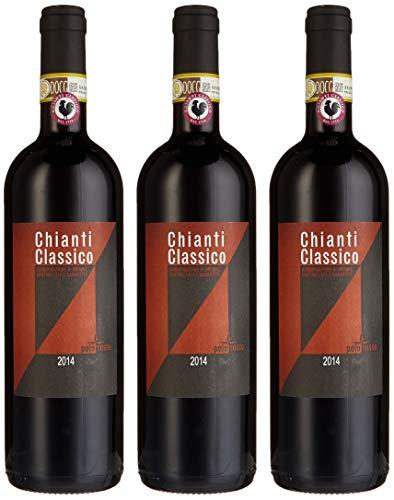 Rocca di Castagnoli Chianti Classico Polo Rosso Cuvée 2012 (3 x 0.75 l)
