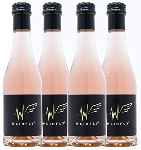 WEINFLY - The First Wine With Energy - 4er Pack, 4 x 200ml Wein - angereichert mit Guarana, Taurin...