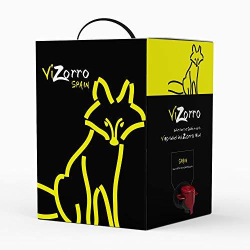 Beutel in Box I Rotwein Empfohlener Rotwein Box mit Zapfhahn I Ausgewählte Trauben - Wein aus...