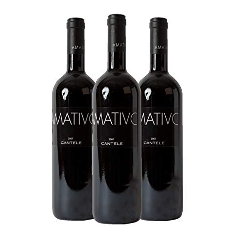 Amativo Salento Rosso IGT Rotwein Italien 2016 trocken (3x 0.75 l)
