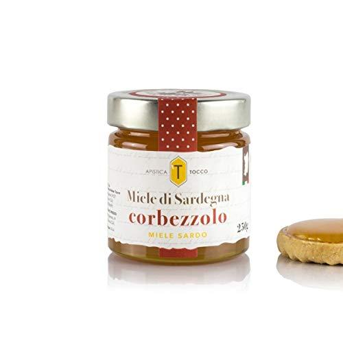 Miele di Sardegna Corbezzolo, Honig des Erdbeerbaums aus Sardinien, 250g, Apistica Tocco