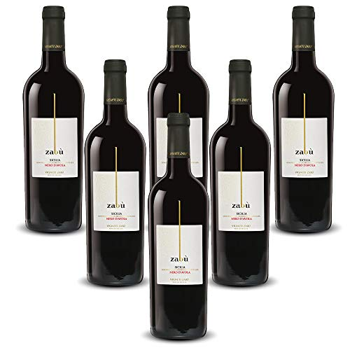Zabù Nero D'Avola IGT Sicilia Vigneti Zabù (6 flaschen 75 cl.)