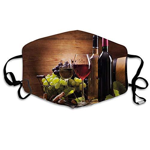 smile-life Gläser Rot- und Weißwein, serviert mit Trauben Französische Gourmet-Verkostung,...