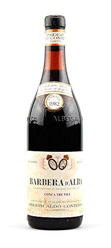 Wein 1982 Barbera d-Alba Conca tre Pile Conterno
