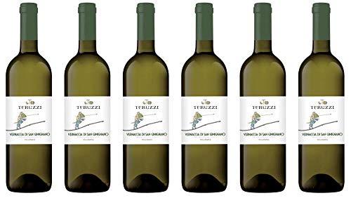 6x Teruzzi & Puthod Vernaccia di San Gimignano 2019 - Weingut Teruzzi & Puthod, Toscana - Weißwein