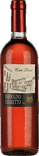 6x 0,75l - 2018er - Corte Pitora - Bardolino Chiaretto D.O.C. - Veneto - Italien - Rosé-Wein...