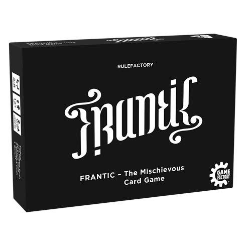 Game Factory 646226 Frantic-The Mischievous Card Game, Kartenspiel, englische Version, schwarz,...