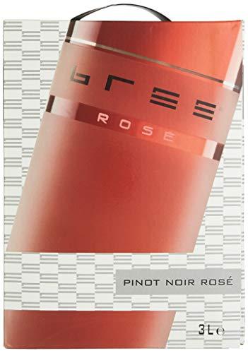 Bree Pinot Noir Rosé Qualitätswein feinherb aus Deutschland, Bag-in-Box (1 x 3 l)