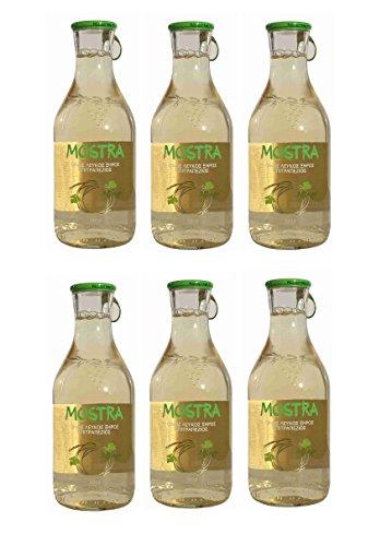 6x Mostra Weißwein trocken je 500ml 12,5% Vol Tsililis Weiß Wein aus Griechenland + 10ml Olivenöl...