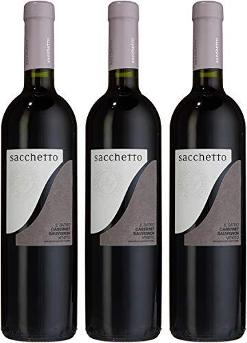 Sacchetto Cabernet Sauvignon Il Satiro IGT 2012 (3 x 0.75 l)