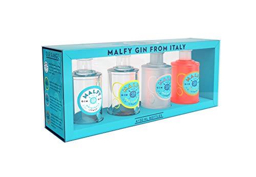 Malfy Gin Miniaturen – Premium Gin aus Italien im Geschenkset – Hochprozentiger Alkohol mit 41 %...