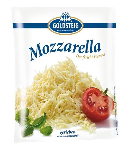 Mozzarella gerieben 1kg Pack