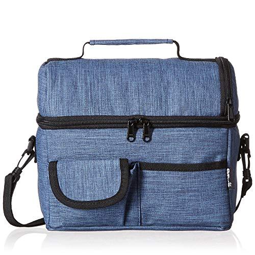 PuTwo Kühltasche, 8L Lunch Tasche, Mittagessen Tasche, Lunchtasche, Lunchbag Isoliert,...