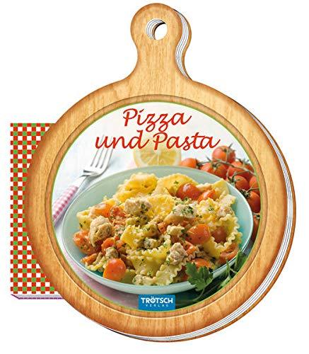 Geschenk-Kochbuch Pizza und Pasta: 13 x 16 cm, 64 Seiten