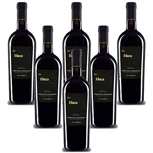 Il Bacca Primitivo di Manduria DOC Vigneti Del Salento (6 flaschen 75 cl.)