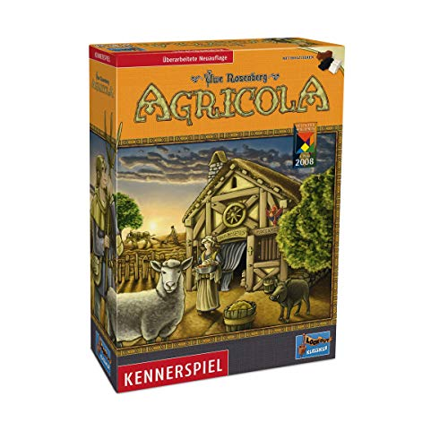 Lookout Games 22160028 - Agricola, Kennerspiel von Uwe Rosenberg