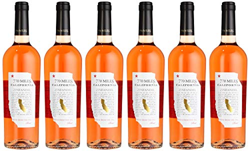 770 Miles Zinfandel Rosé Kalifornien Roséwein (6 x 0.75 l)
