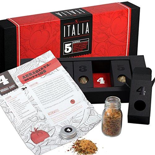Italienische Kräuter – MeinGenuss – Gewürzset Italia – Das perfekte Geschenkset für...