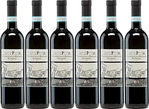6x Corte Pitora Ripasso Valpolicella Classico Superiore 2014 - Weingut Casa Vinicola Bennati,...