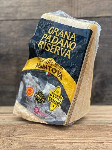 Preisgekrönter Grana Padano DOP riserva mind. 20 Monate gereift 1,1kg am Stück italienischer...