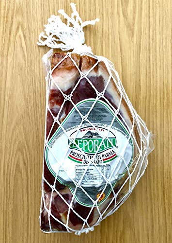 Parmaschinken Spezial Angebot - 1,3Kg PROSCIUTTO di Parma DOP LEPORATI mind. 24 Monate gereift am...