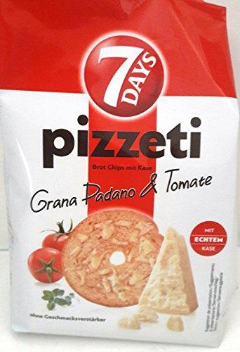 7 Days Pizzeti Grana Padano & Tomato 175g (Pack of 6)
