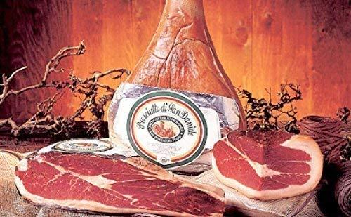 1,8Kg mind 16 Monate luftgetrockneter Rohschinken Prosciutto di San Daniele DOP natürlich gereift...