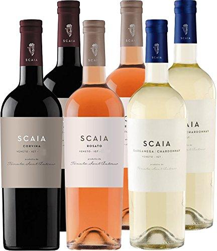 Scaia*Scaia*Scaia - Bianca/Rosato/Corvina - Tenuta Sant Antonio - 6er Paket